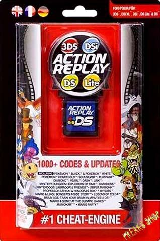 Download free Action Replay DSi Code Manager 1.0.0.1