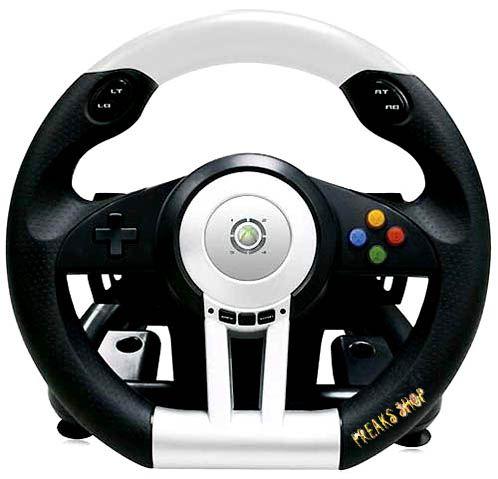 xb360 lenkrad racing wheel ex2 39 hori 39 62 95 freaks shop. Black Bedroom Furniture Sets. Home Design Ideas