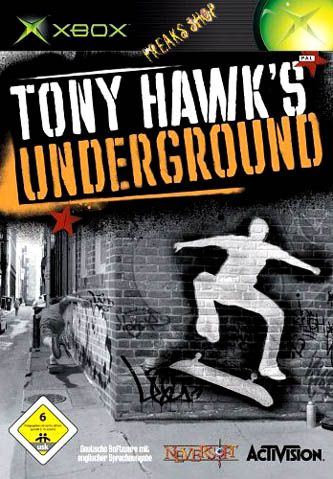 XB Tony Hawks - Underground