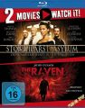 Blu-Ray 2 in 1 Edition: Stonehearst Asylum & Raven, The  -Doppelset-  2 Discs  Min:223/DD5.1/WS