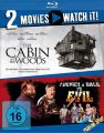 Blu-Ray 2 in 1 Edition: Tucker & Dale vs EVIL &  Cabin in the Woods, The  -Doppelset-  2 Discs  Min:183/DD5.1/WS