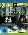 Blu-Ray 3 Movies - Awakening, The & The Tall Man, The & The Return