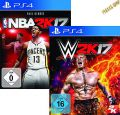 PS4 2K17 Sportsbundle: WWE 2k17 D1 + NBA 2k17 D1