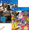 PS4 2 in 1: Super Bomberman R + Metal Gear Solid - Survive