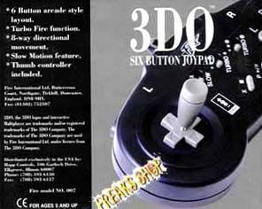 3DO Joypad '6 Button'  (RESTPOSTEN)