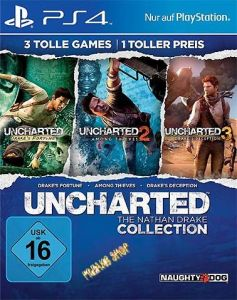 PS4 Uncharted Nathan  Drake Coll.  inkl. Uncharted 4 MP Beta  (Ex Trilogie)