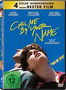 DVD Call me by your Name  Min:127/DD5.1/WS